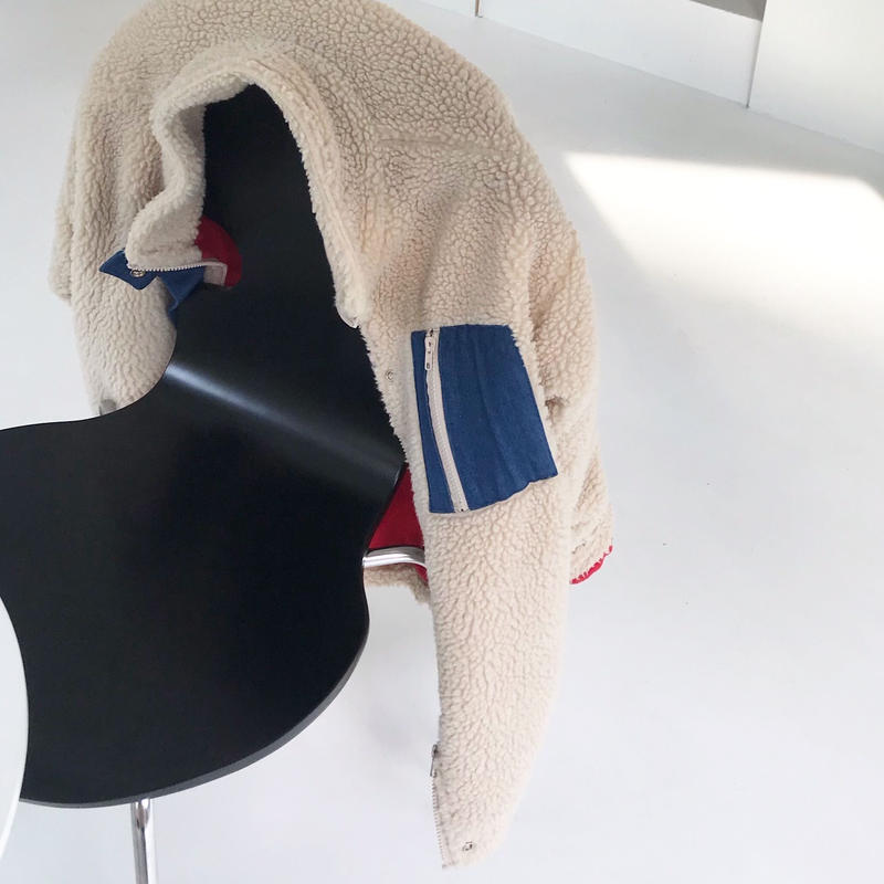 【予約アイテム】モコモコフリースジャケット