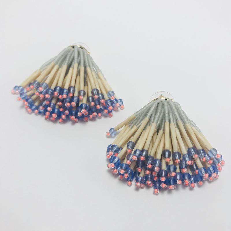 Dress pierced earring / 906191