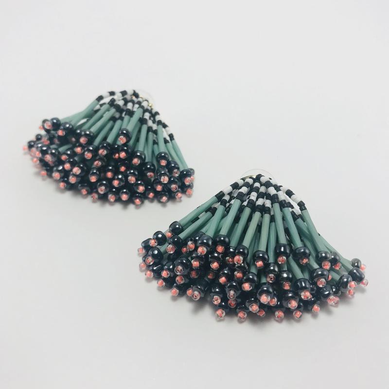 Dress pierced earring / 906186