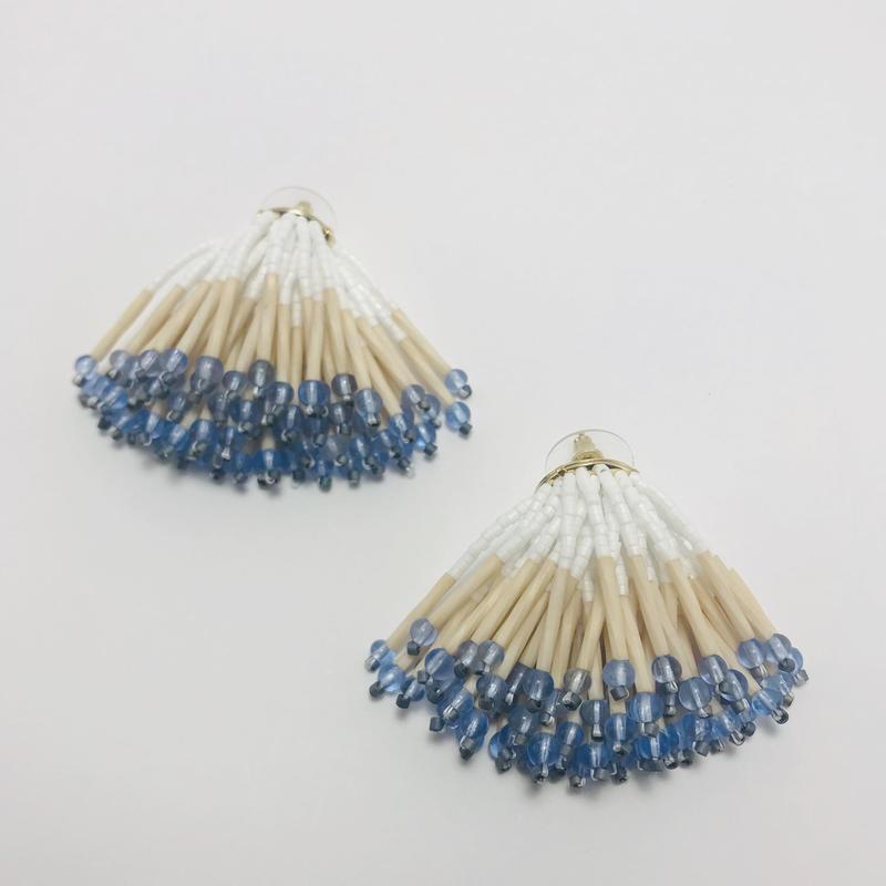 Dress pierced earring / 906188