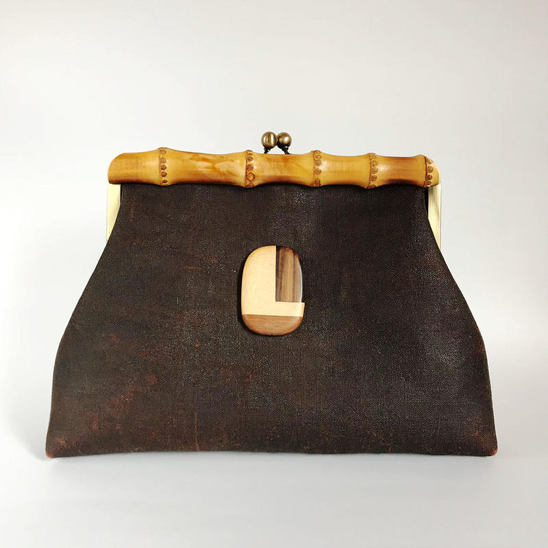 Bamboo Clutch Bag / 1865