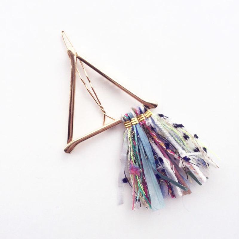 Pyramid Fringe Clip / 013101