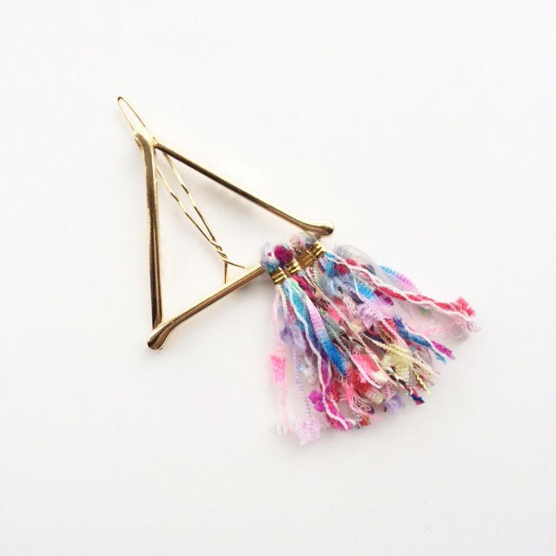 Pyramid Fringe Clip / 013102