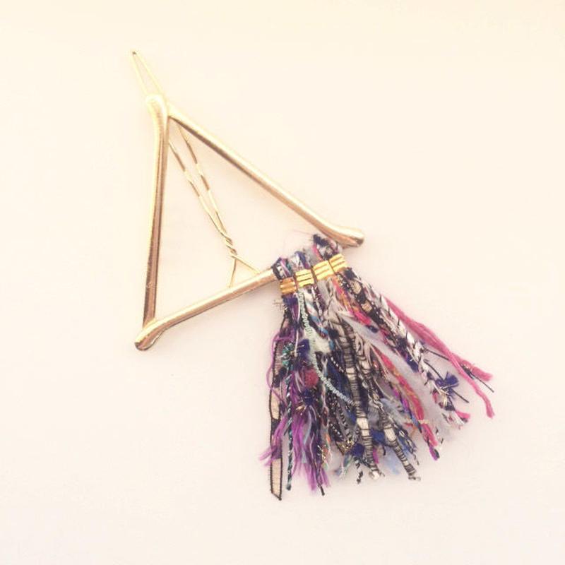 Pyramid Fringe Clip / 013127