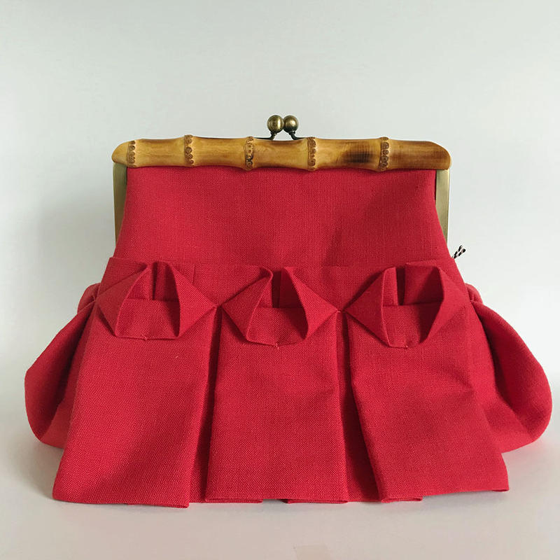 Bamboo Clutch Bag / 2049