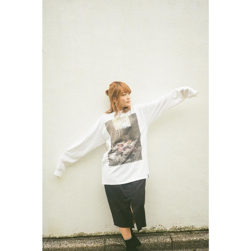 SeeyouNeverland Long T-shirts white