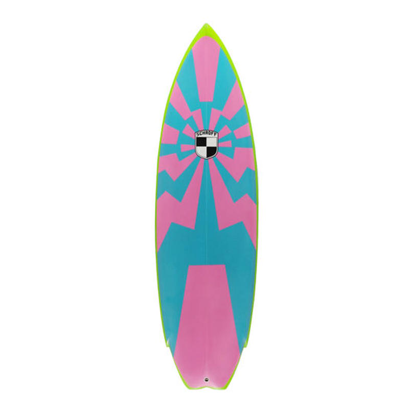 "5'11""  HIGH  PERFORMANCE  ""Iren"" Air brushed & Hand shaped by Peter Schroff"