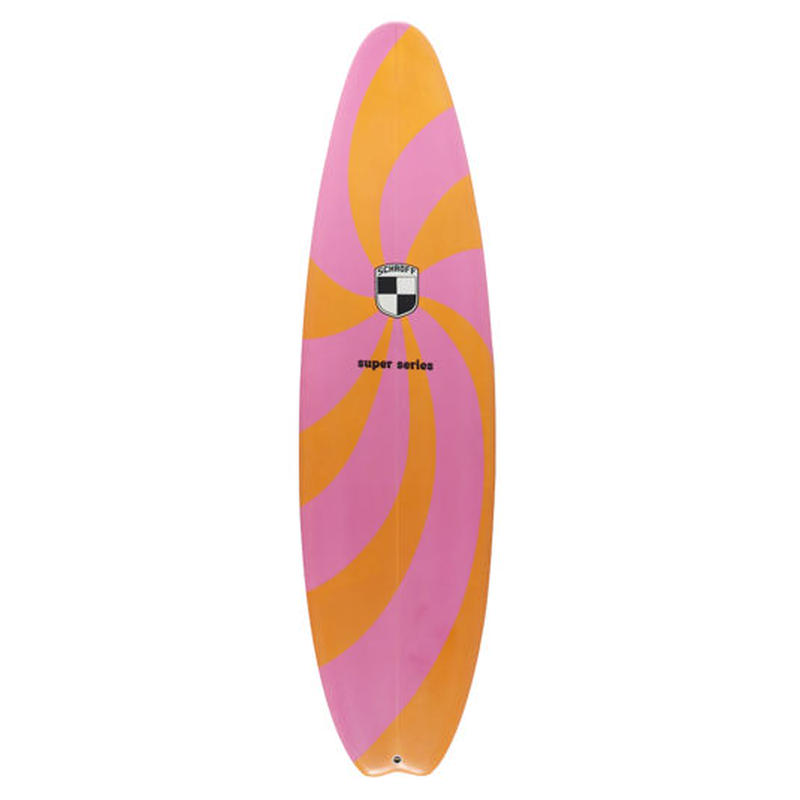 "6'6""  SUPER SERIES  ""Nancy"" Air brushed & Hand shaped by Peter Schroff"