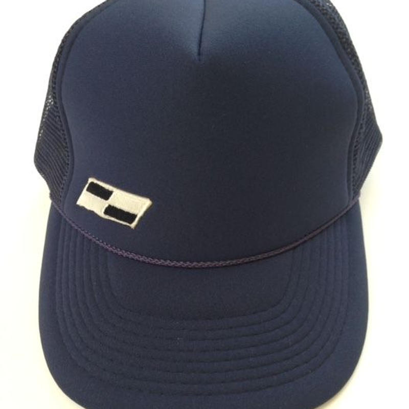 "TRUCKER  mesh  CAP  ""Classic Patch""  (Navy)"