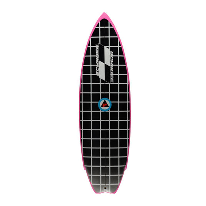 """5'4"""" Circa 80's HIGH PERFORMANCE  """"Jody"""" Air brushed & Hand shaped by Peter Schroff"""