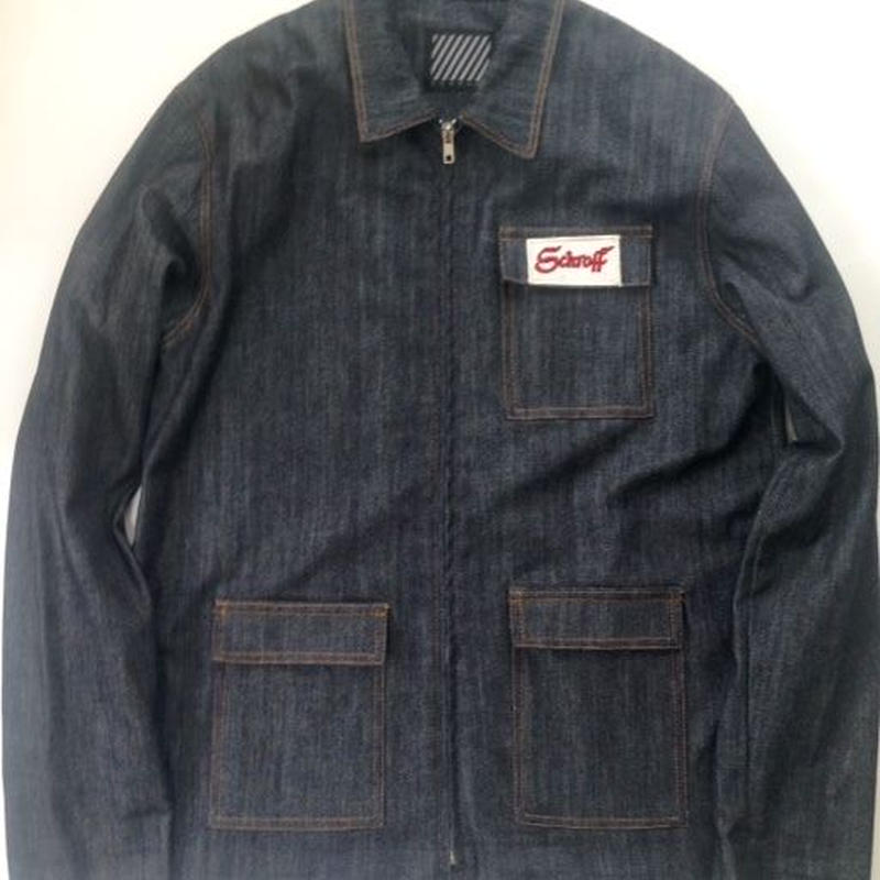 HELL's  KITCHEN  JACKET  Indigo Denim  LIMITED EDITION