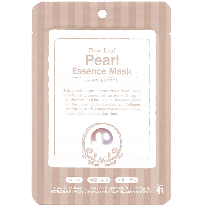 【定期購入】ディアリーフ パールエッセンスマスク【毎月30枚】  のコピー