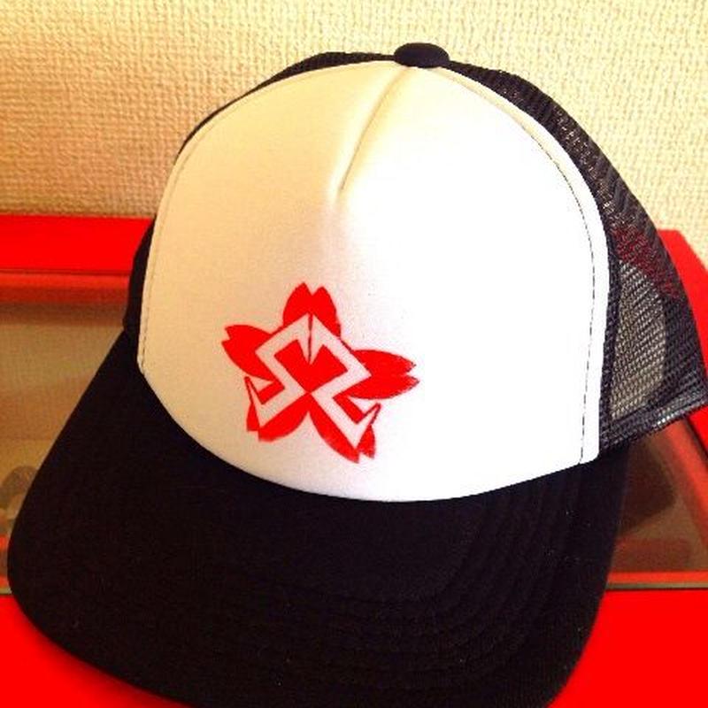 SS 桜メッシュキャップ