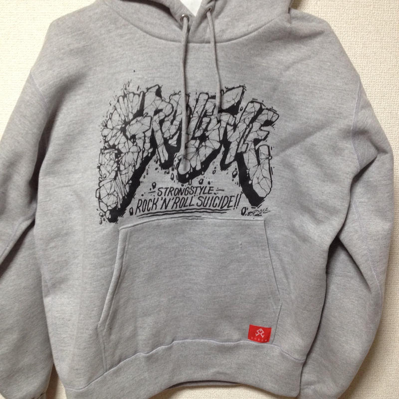 "PULL OVER HOODY ""ESPY CRACK LOGO"""