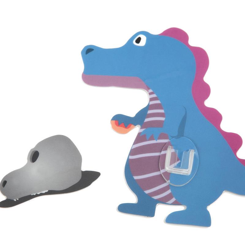 シールフック 粘着力強力  可愛い動物デザイン(ティラノサウルス)