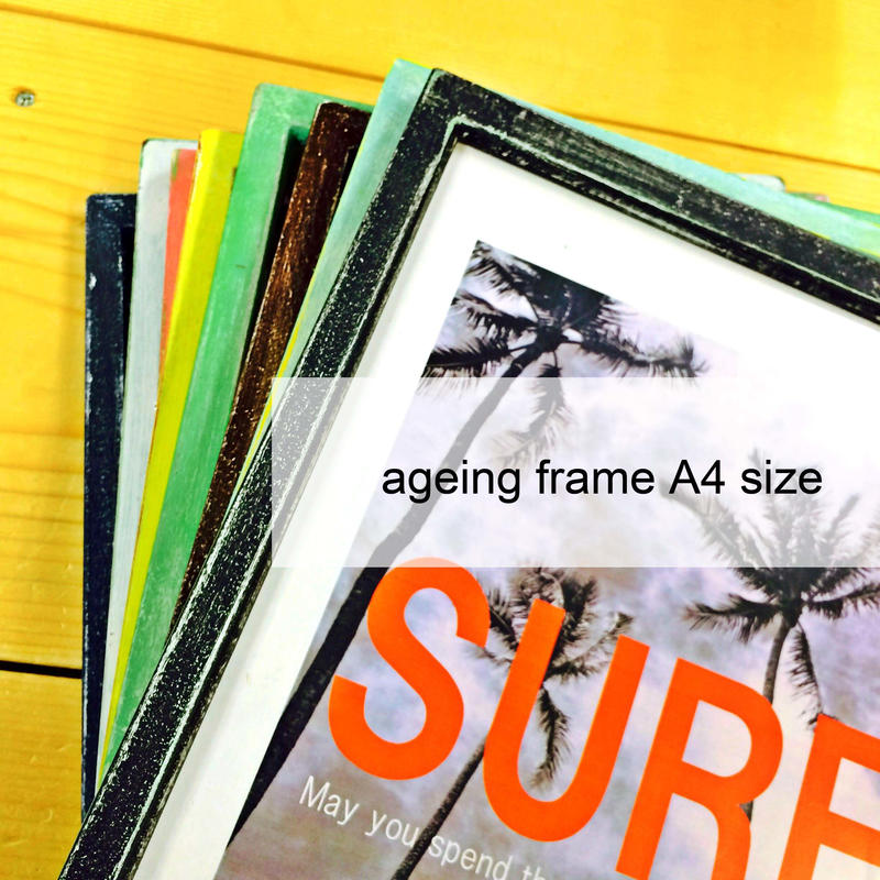 ageing frame [A4 size]