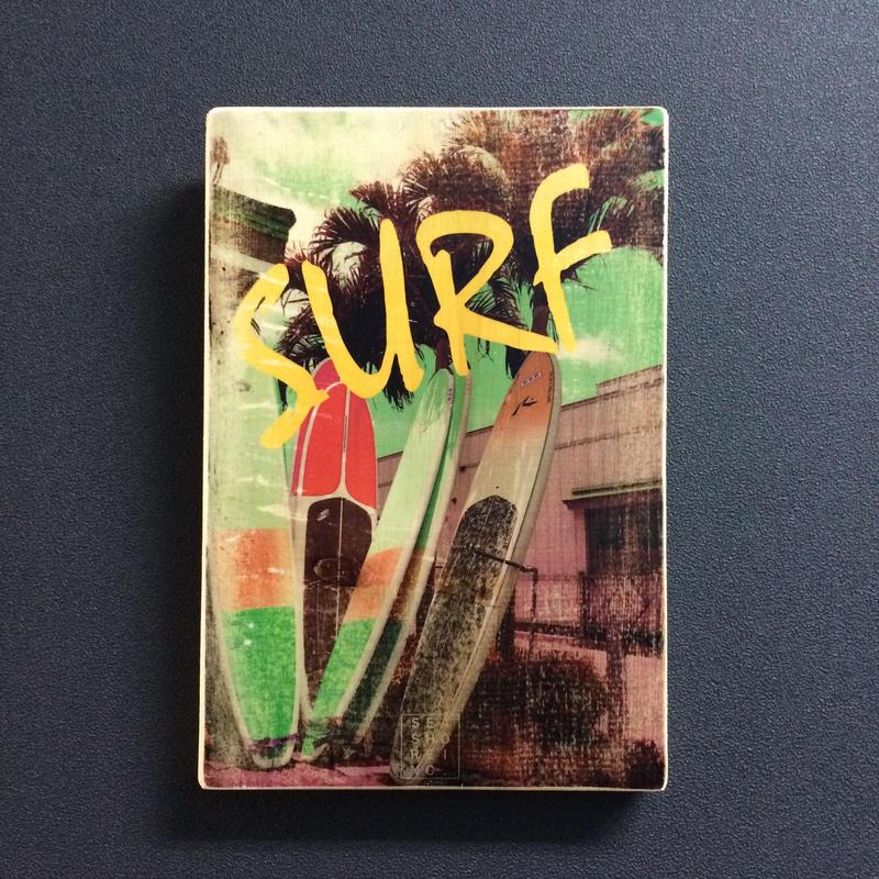 wood plate : SURF