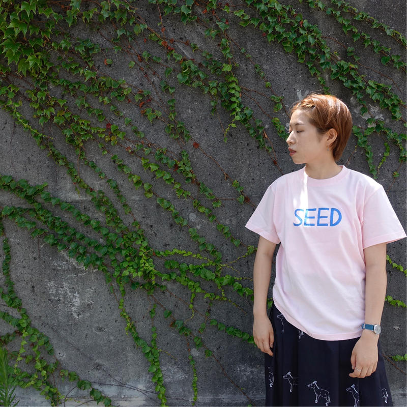 Embroidery T-shirts SEED 刺繍Tシャツ