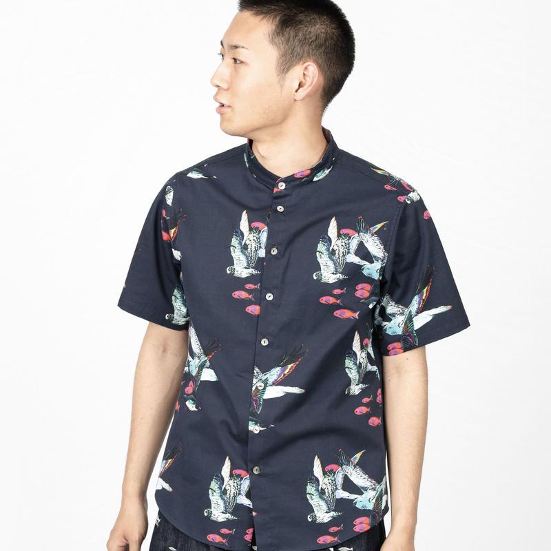 Cotton Print Shirts コットンプリントシャツ [KAKERU]
