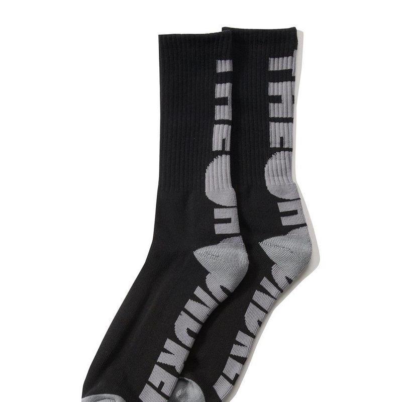 The Hundreds Bar Socks BLACK