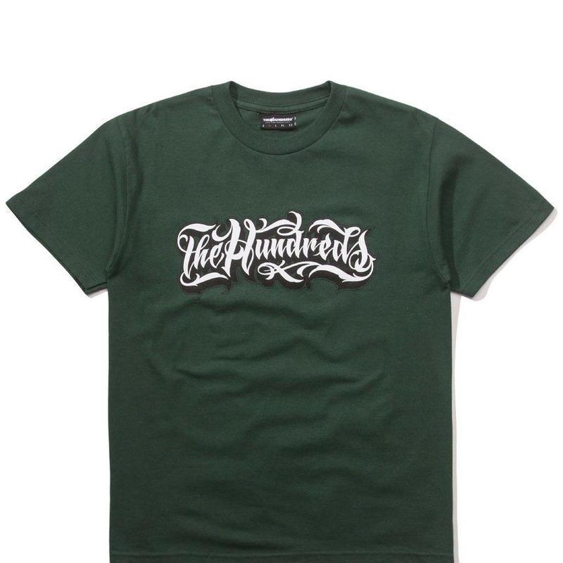 The Hundreds Wordmark T-Shirt FOREST