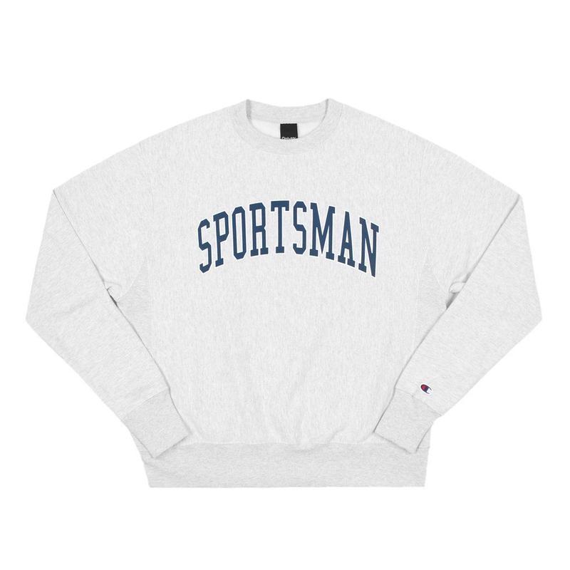 ONLY NY Sportsman Champion® Reverse Weave Crewneck ASH