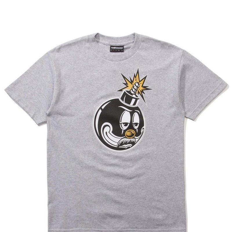 The Hundreds Cartoon Bomb T-Shirt ATHLETIC HEATHER