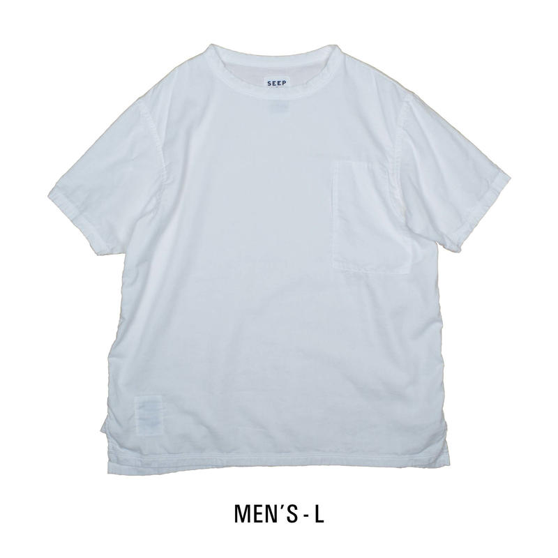 "Gauze Men""s Short Sleeve Pocket T-Shirt"
