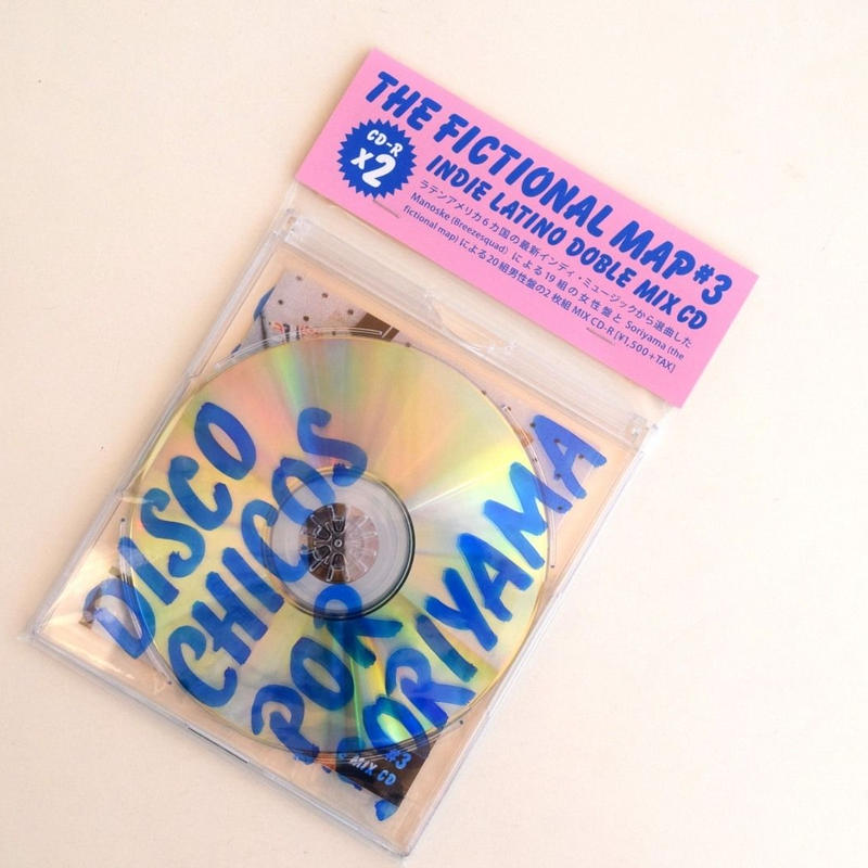 THE FICTIONAL MAP #3 INDIE LATINO DOUBLE MIX CD