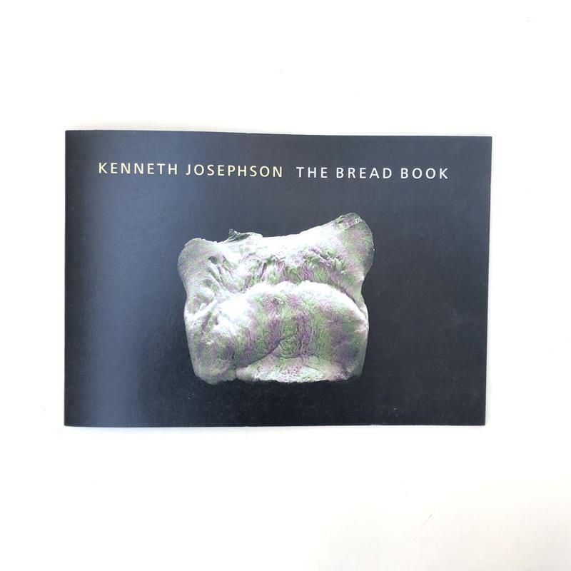 KENNETH JOSEPHSON THE BREAD BOOK(サイン入り)