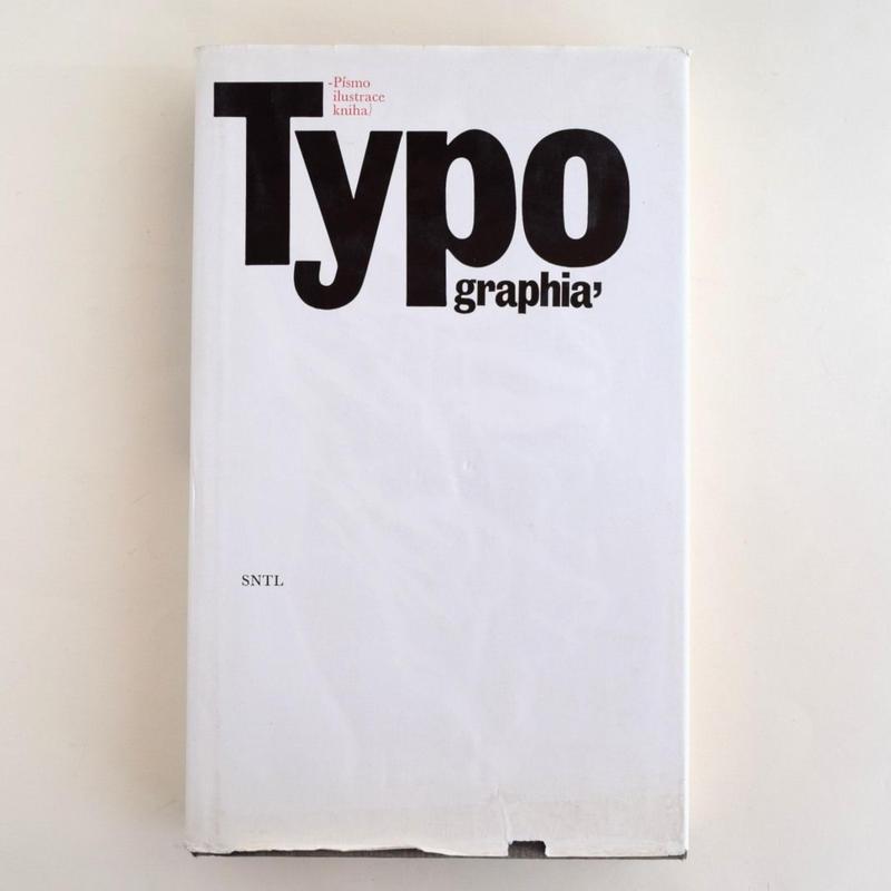 Typographica Pismo ilustrace kniha