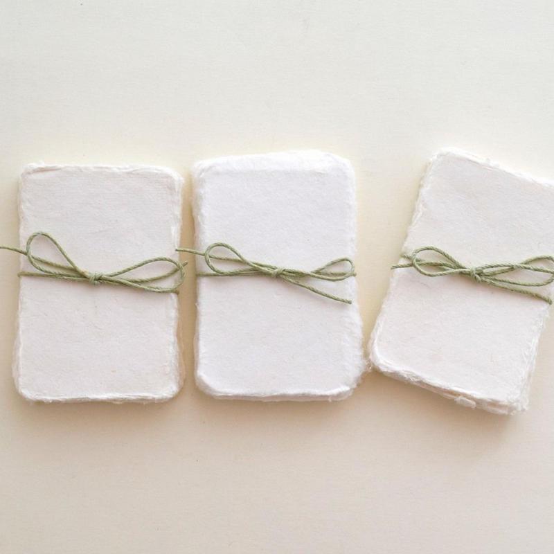 チェンナイの名刺サイズ手漉きペーパー