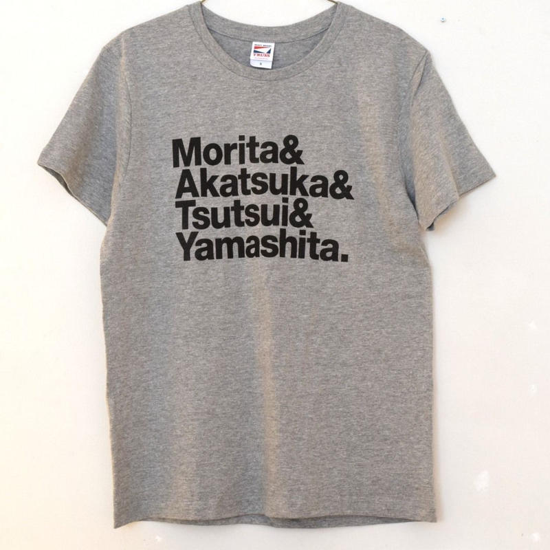 森田一義文化圏Tシャツ グレー