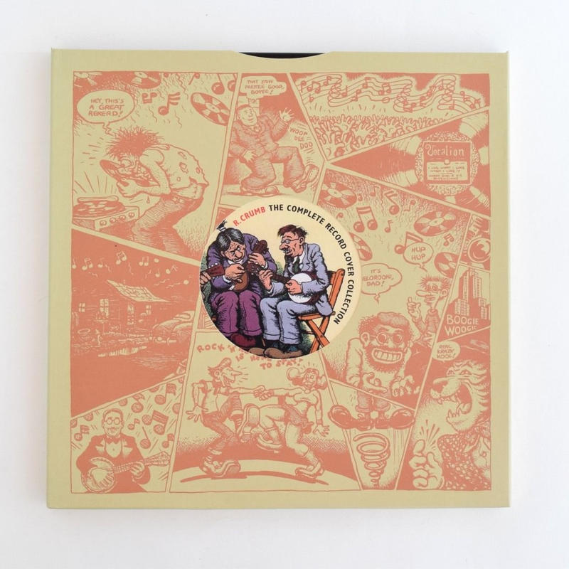 R.CRUMB THE COMPLETE RECORD COVER COLLECTION
