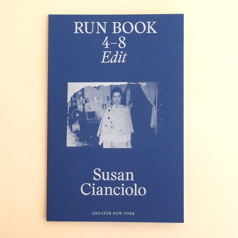 Susan Cianciolo  Run Book 4-8 Edit