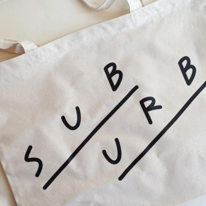 SUBURB TOTE BLACK