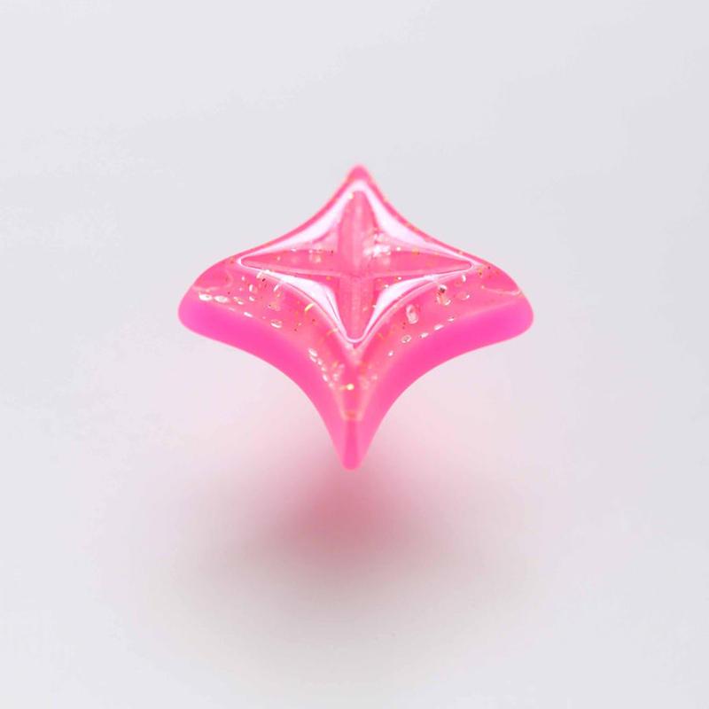 キラキラピアス(ピンク)