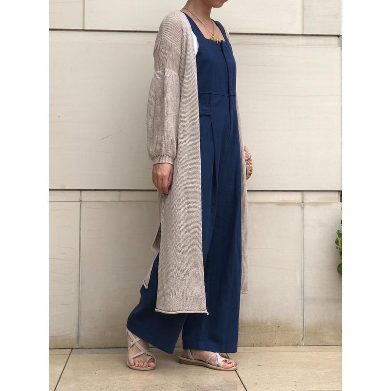 【order item/beigeMsizeのみ即納】 Summer knit cardigan