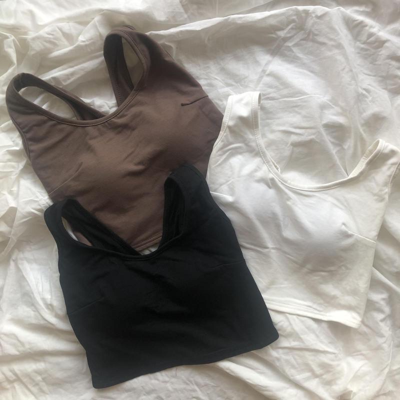 half bra top