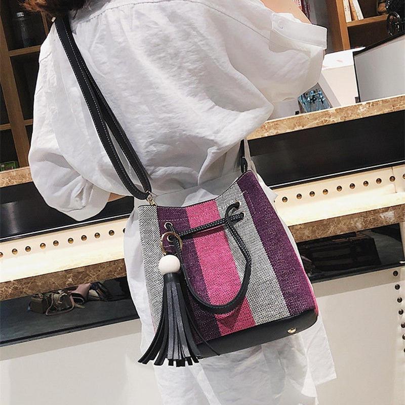 【order item】stripe shoulder bag