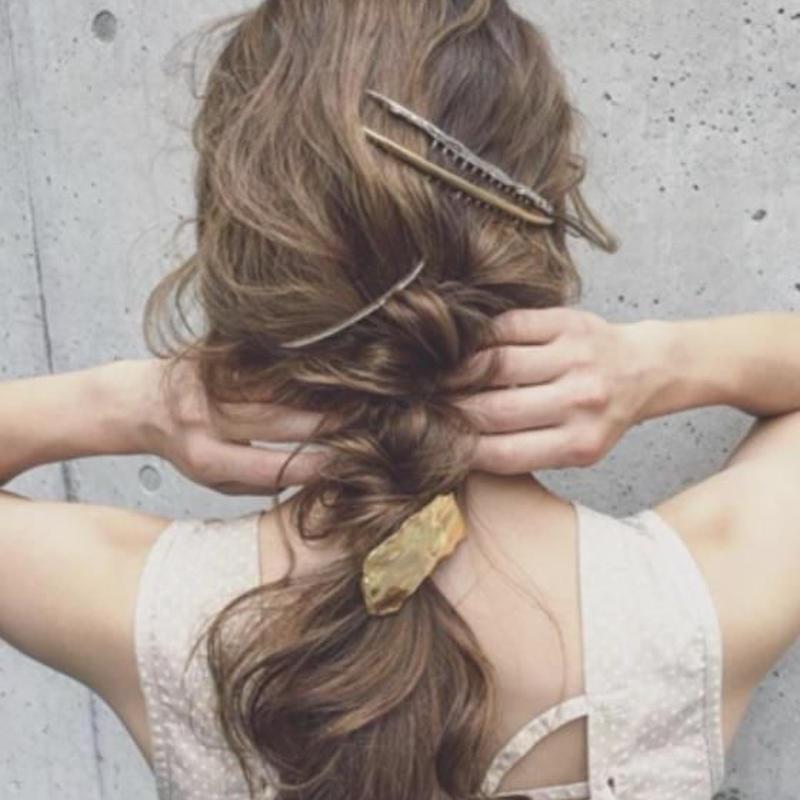 moon hair comb