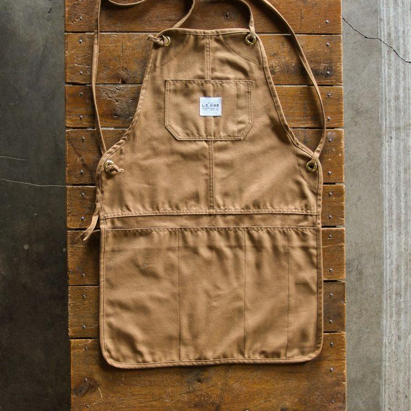 LC King Brown Duck Grilling Apron