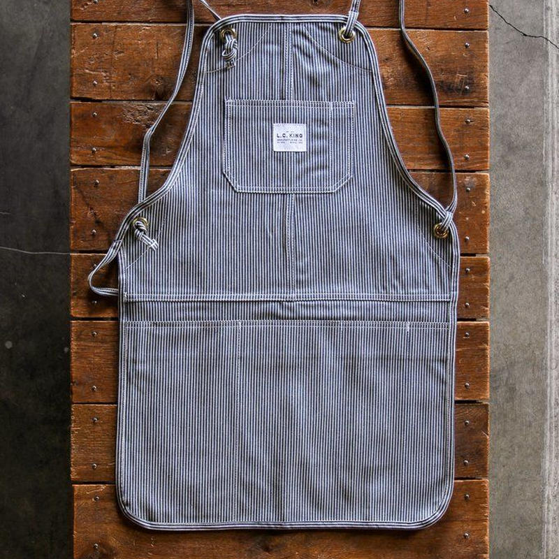 LC King Hickory Stripe Grilling Apron