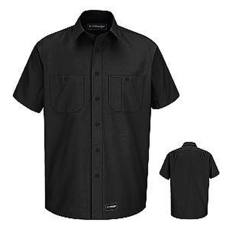 Wrangler Workwear Short Sleeve Workshirt