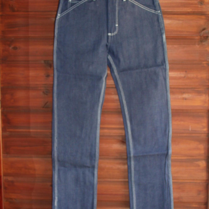 Round House 5 Pocket Pants ( Blue Denim )