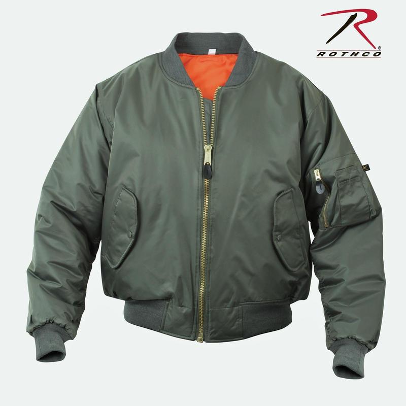 Rothco MA-1 Flight Jacket ( Sage Green )
