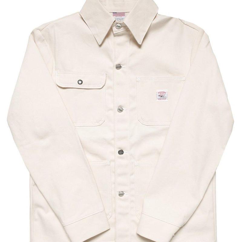 Pointer Brand White Drill Chore Coat ( Size XS , S )