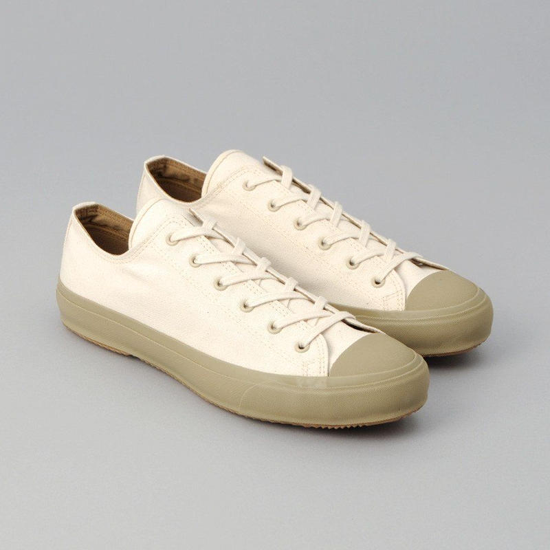 The Hill-Side Standard Low Tops, Natural Duck Canvas