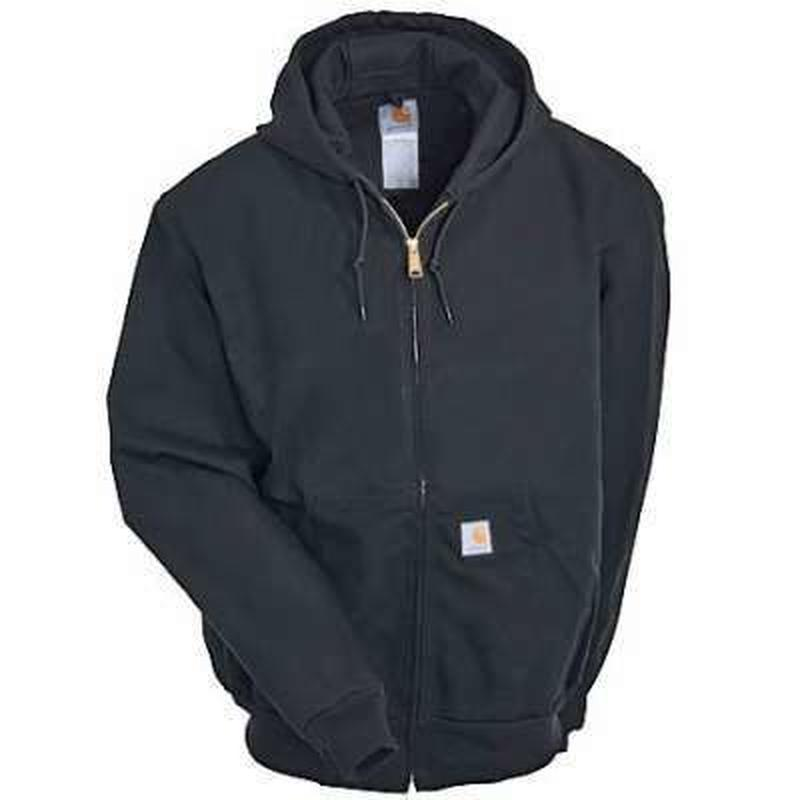 Carhartt Duck Active Jacket ( Thermal Lined ) Black