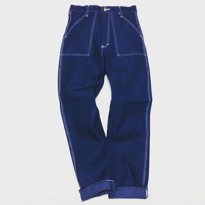 Round House Baker Pants ( Blue Denim )